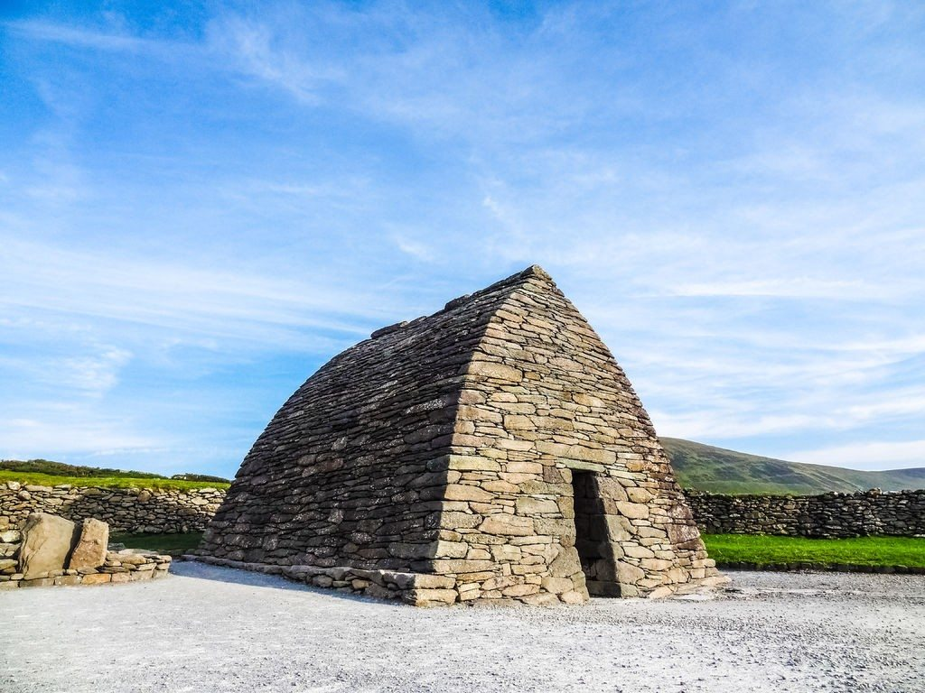 Gallarus Oratory, Dingle Peninsula, Wild Atlantic Way, Co. Kerry, Ireland by Valerie O'Sullivan