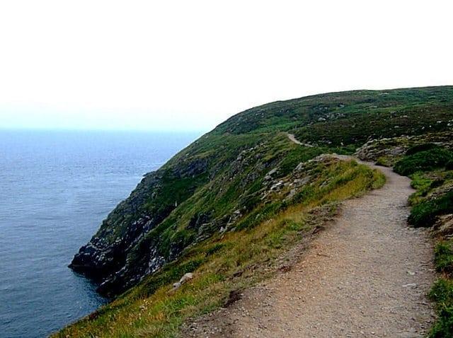 Howth Cliff Path Loop Walk, Route Map, Dublin City ...