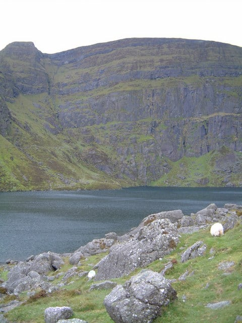 Lake Coumshingaun Comeragh Mtns Waterford c. Peter Taylor CCL