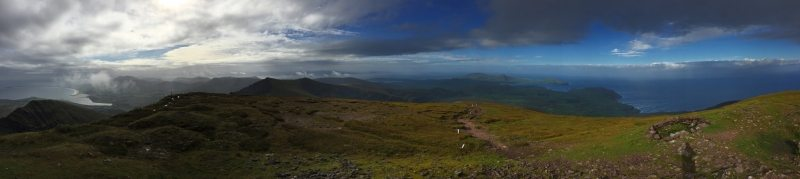 Mountain_Brandon_Pano_View_from_Summit_Tralee_Dingle_Kerry_Bay_Area_Wild_Atlantic_Way_Ireland