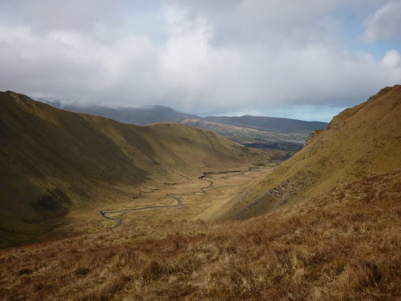 Glennahoo River Valley from Maghanabo