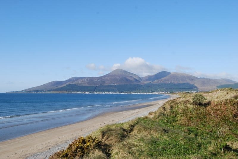 View of Slieve Donard, Co. Down, Northern Ireland