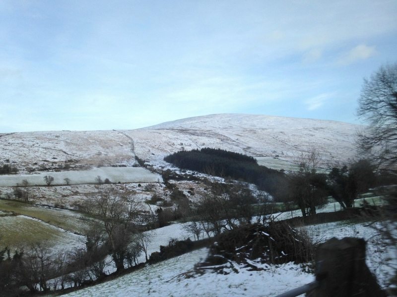 Sawel Mountain during Winter, Sperrin Mountains, Co. Tyrone, Northern Ireland