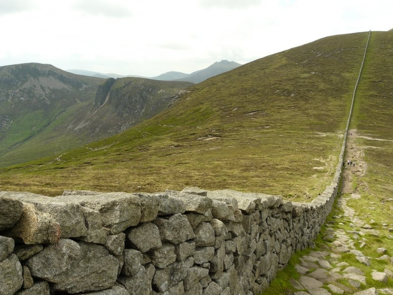 Mourne Wall Challenge, Mourne Mountains, Newcastle, Down, Northern Ireland, cc.bishib70 ActiveMe
