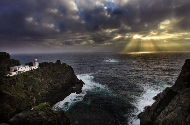 Skellig Lighthouse, Kerry on the Wild Atlantic Way by Valerie O'Sullivan