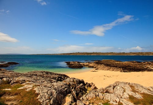 Lettergesh Beack Renvyle County Galway Beaches Connemara ...  |Galway Beaches
