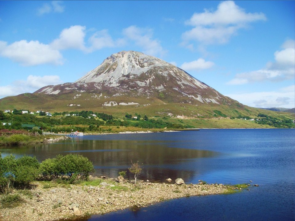 Mount Errigal Mountain Walk and Dunlewy Lake, Donegal, Wild Atlantic Way Ireland cc.Liam Moloney Best Walks in Ireland