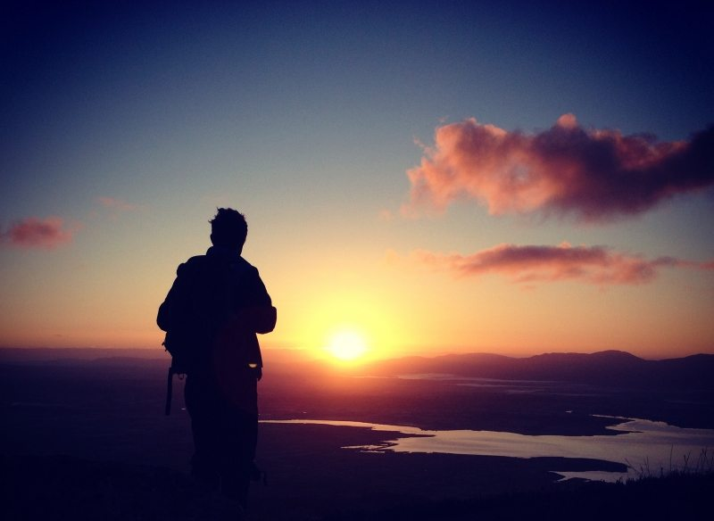 Caherconree Mountain Ancient Trail for the Sacred Summer Solstice Sunrise, Tralee, Kerry, Wild Atlantic Way, Ireland