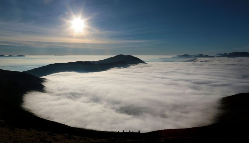 Rising-Fog-Caherconree Mountain Irelands Ancient Trails on the Wild Atlantic Way, Tralee, Co. Kerry by Valerie O'Sullivan