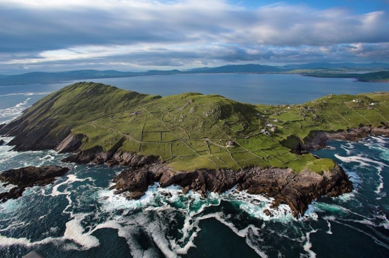 Aerial Hogs Head on the Wild Atlantic Way by Valerie O'Sullivan