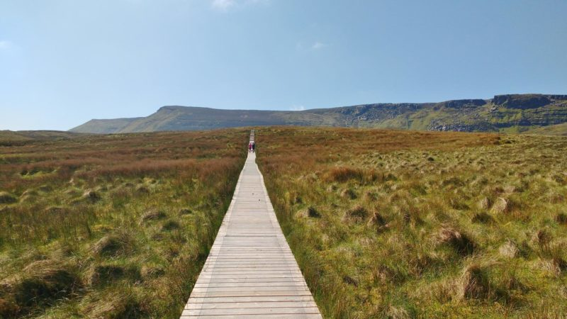 Cuilcagh Mountain Legnabrocky Boardwalk Trail Walking Route to summit on Fermanagh and Cavn boarder, Ireland - Photo Sarah Explores