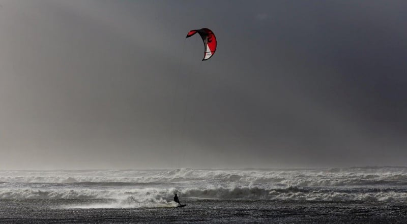 Kite Surfer Lucas Inch on the Wild Atlantic Way by Valerie O'Sullivan
