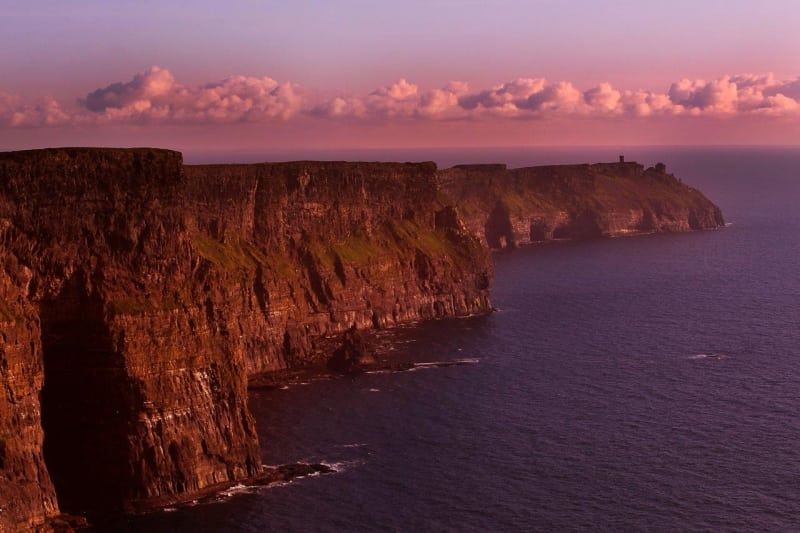 Cliffs of Moher on the Wild Atlantic Way by Valerie O'Sullivan