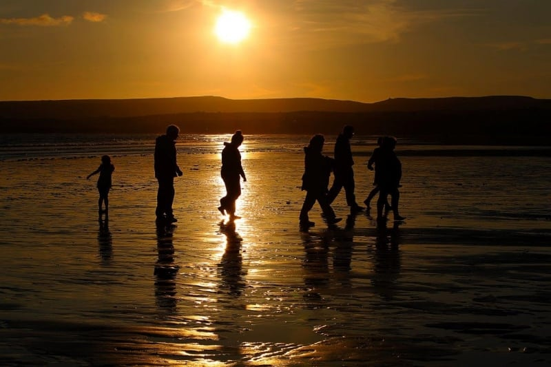 Lahinch Evening on the Wild Atlantic Way by Valerie O'Sullivan