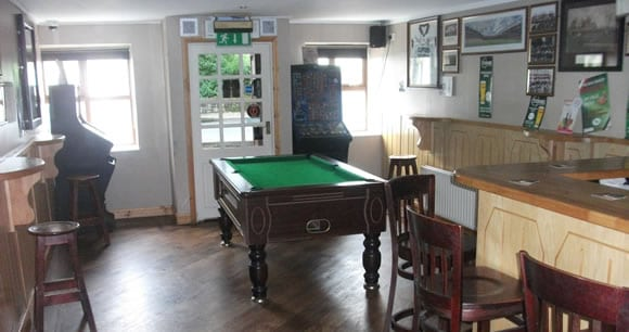 Crossbar Pub Gurteen Pool Room