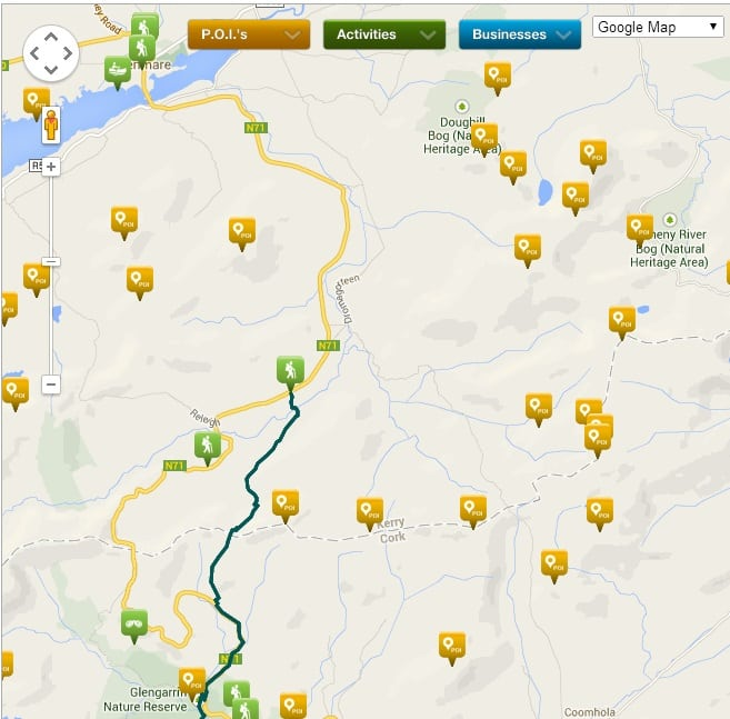 ActiveMe Tourism Content Training Screenshot,