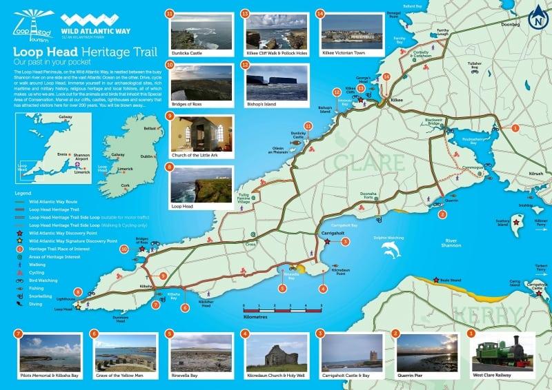 Loop Head Heritage Trail, Co Clare - Wild Atlantic Way, Ireland