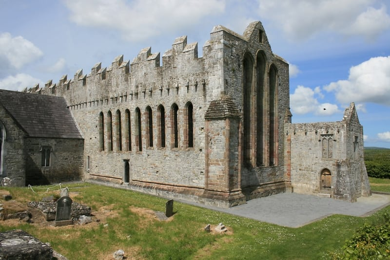 Ardfert Cathedral Ruins, Kerry, Ireland, Wild Atlantic Way