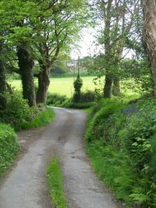 Rossbrin Loop Walk quiet country lanes West Cork
