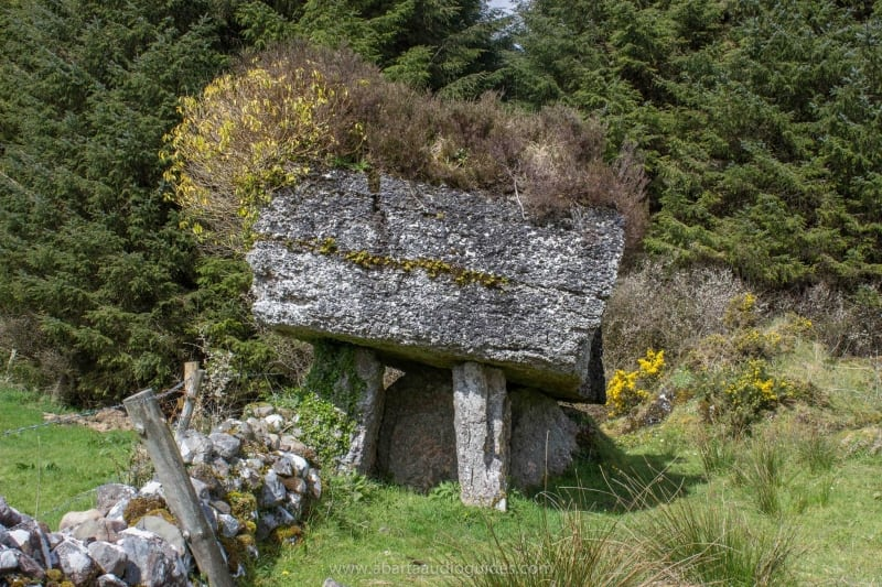 Labby Rock, c.5000 year old portal tomb, Cromleach Lodge, County Sligo