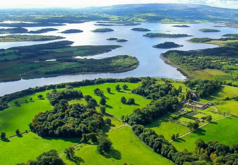 Top Cycling Routes in Ireland, Lough Erne, Kingfisher Cycling Route, Ireland