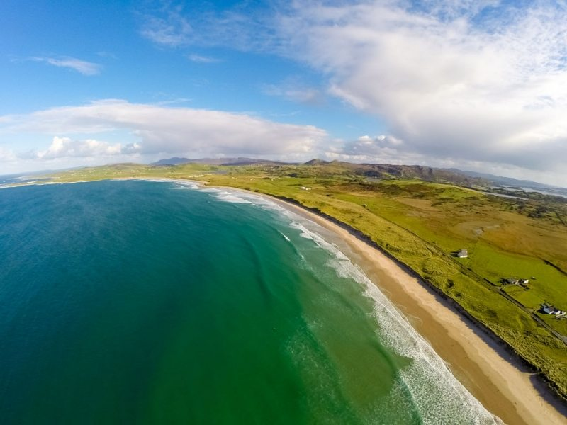 Ballyhiernan Bay and Beach, Fanad Peninsula, Co Donegal, Wild Atlantic Way, Ireland by Raymond Fogarty