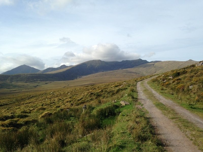 Brandon Mountains from Teer, Cloghane, Dingle Peninsula, Co. Kerry, Wild Atlantic Way, Ireland