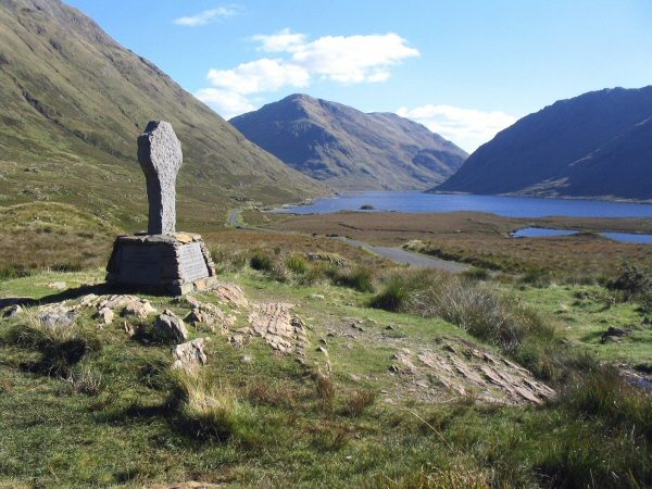 Doolough Famine Memorial, Louisburgh, Mayo, Ireland - Wild Atlantic Way