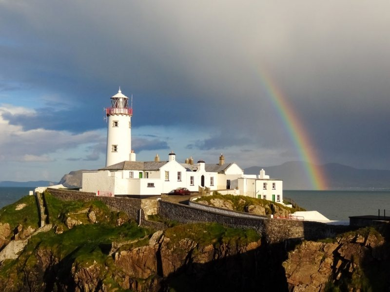 Fanad Lighthouse, Donegal, Wild Atlantic Way, Ireland by Raymond Fogarty