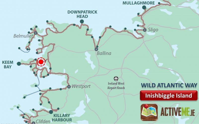Innisbiggle Island, Achill, Co Mayo, Wild Atlantic Way, Ireland ActiveMe Travel Guide