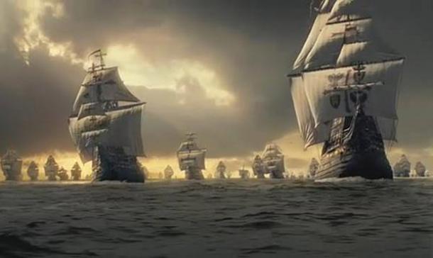 Spanish-armada viewpoint, Co Mayo, Ireland