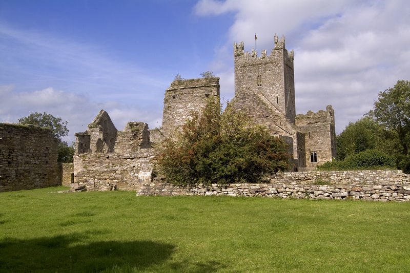 Jerpoint Abbey, Thomastown, Co Kilkenny, Ireland