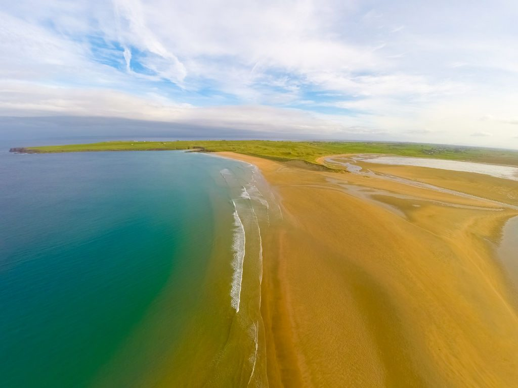 Lackan Strand, Mayo, Wild Atlantic Way, Ireland by Raymond Fogarty