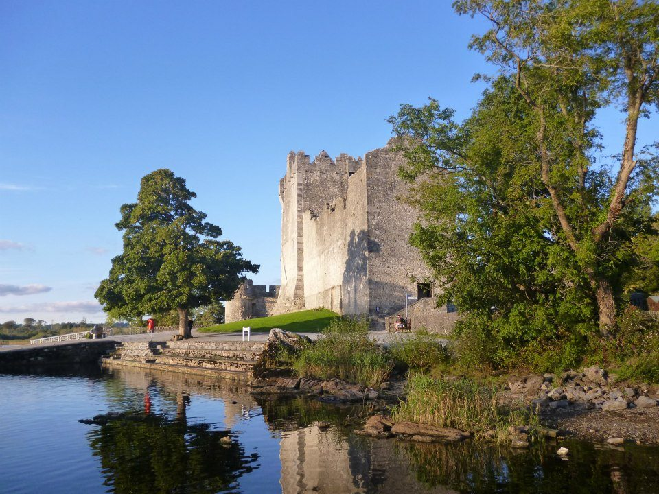 Ross Castle on the shore on Lough Leane, Killarney, Co.Kerry