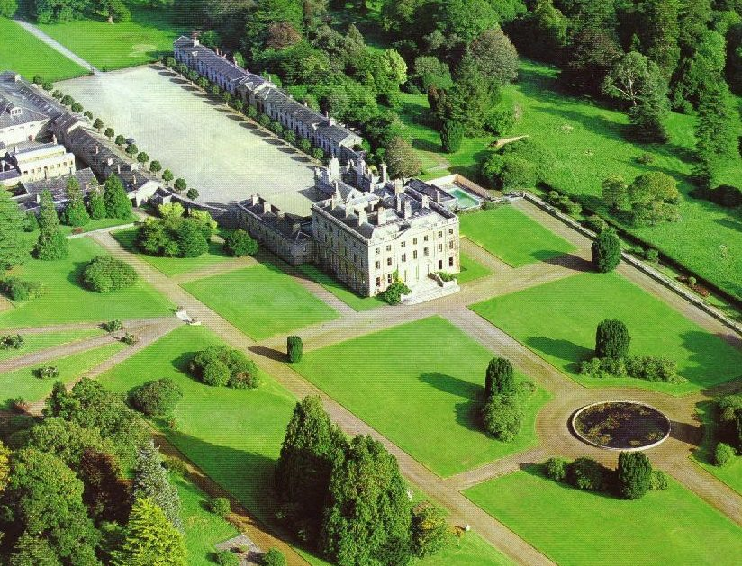 Curraghmore House Aerial View, Waterford, Irelands Ancient East