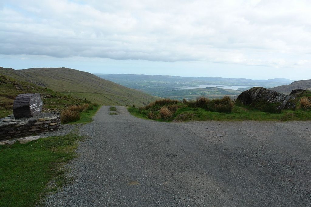 Priests-Leap-mountain-pass-scenic-drive-Bonane-Bantry-Caha-looking-south-Wild-Atlantic-Way