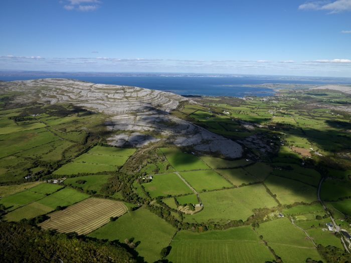Top Driving and Cycling Routes in Ireland, Burren Cycle Loop, Clare, Ireland is a Unesco World Heritage Site