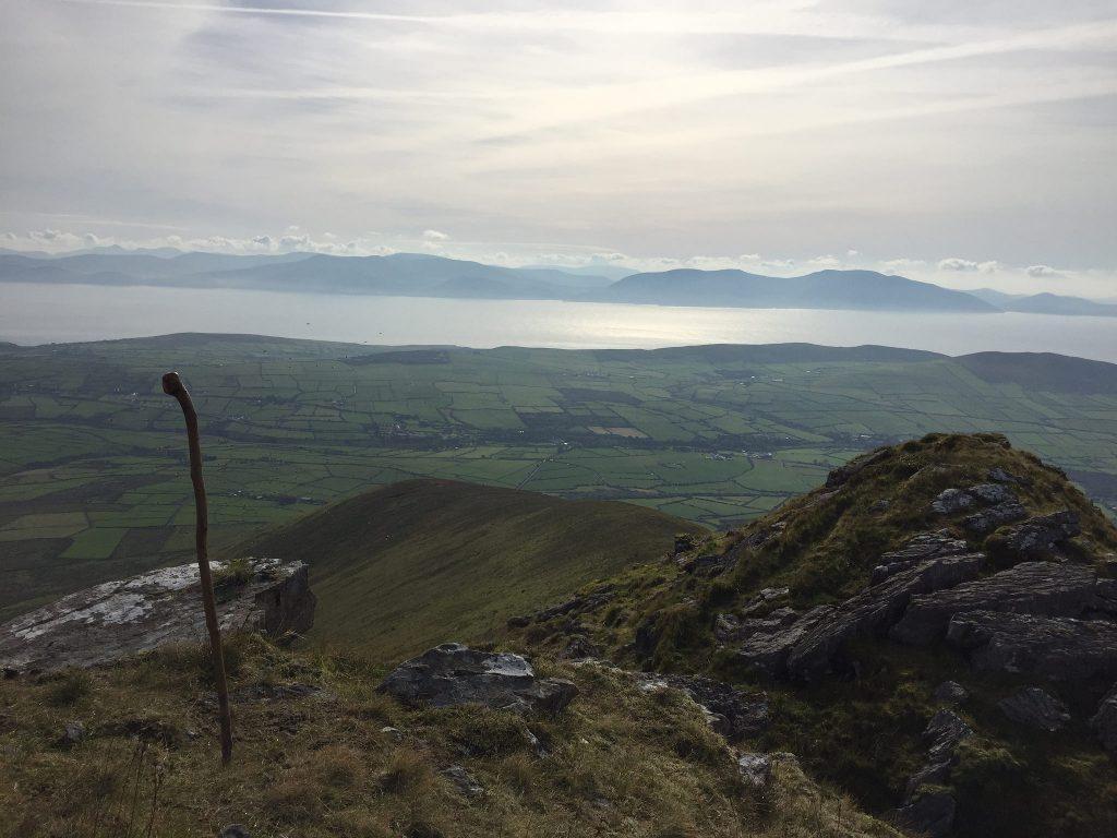 View-from-Croaghskearda-accross-Dingle-bay-to-Glenbeigh-and-Knoocknadtobar-mtn