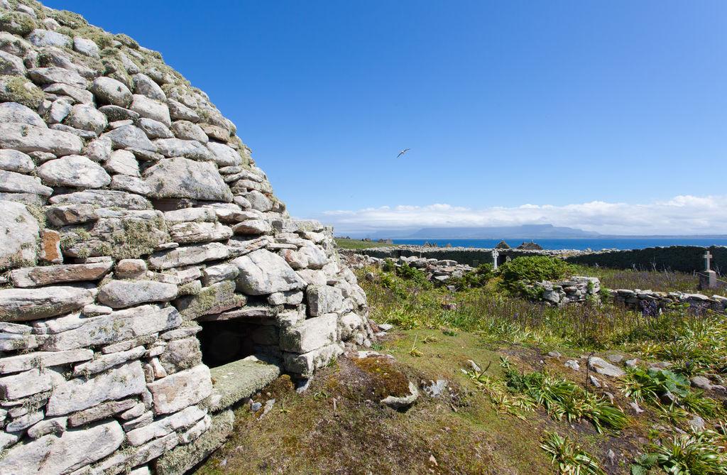 Inishmurray Island Monastic Settlement, Co. Sligo, Irelands Wild Atlantic Way by