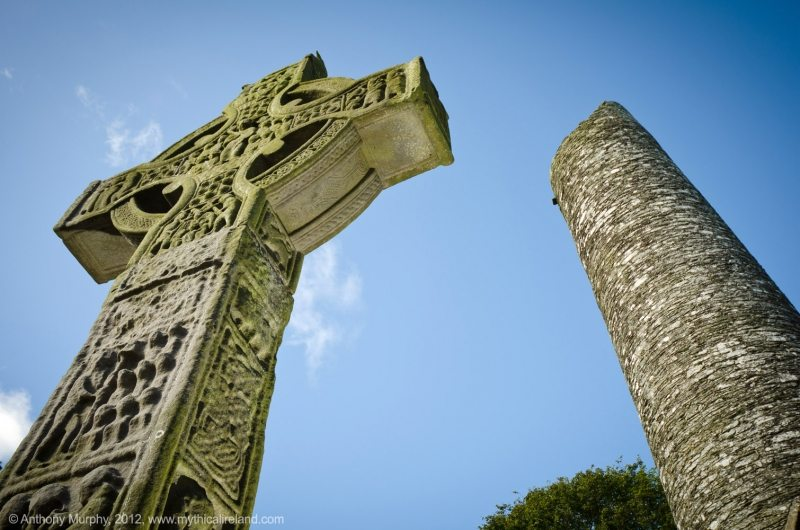 Monasterboice Cross and Round Tower, Boyne Valley, Co. Meath, Irelands Ancient East by Anthony Murphy www.mythicalireland.com
