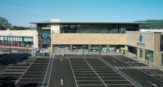 Showgrounds Shopping Centre Coakley Consulting Engineers Development Planning Traffic Roads Transport Impact Assessment Mixed Use, Roundabout, TIA, TTA, Safety, Parking, Junction, Design